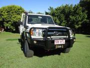 Toyota 2010 Toyota Landcruiser 2010 VDJ79R Tray back