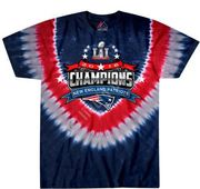 NFL New England Patriots Super Bowl 51 Champions Liquid Blue Mens Shie