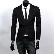 2019 FASHION MEN SLIM FIT SOLIC COLOR CASUAL SUIT BLAZER COAT JACKET O