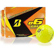 Bridgestone 2017 E6 Soft Golf Balls (One Dozen)