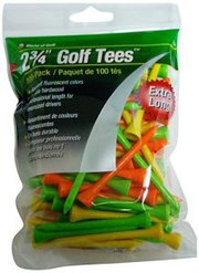 Laser Sports 2.75″ Wooden Deluxe Precision Golf Tees – 100 Count Bag