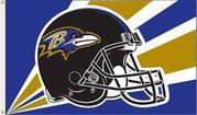 NFL Denver Broncos 3 Ft. X 5 Ft. Flag W/Grommetts