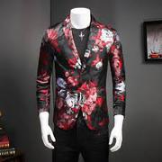 2019 FANCY FLORAL MENS BLAZER MENS SUITS COSTUME
