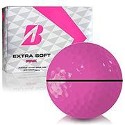 Bridgestone Extra Soft Pink Personalized Golf Balls