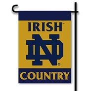 NCAA Notre Dame Fighting Irish 2-Sided Country Garden Flag