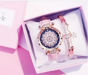 2019 WOMEN WATCHES BRACELET SET STARRY SKY LADIES BRACELET WATCH